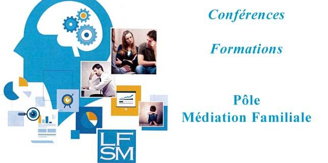 Pôle médiation familiale Formations 2018